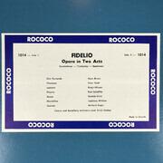 Double LP - Ludwig van Beethoven (Kleiber) - Fidelio - Mono + insert