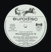 Double LP - Ludwig van Beethoven/K. Masur, Gewandhausorch., A. Tomova, A. Burmeister a.o. - Missa Solemnis D-dur Op. 123