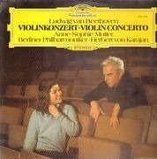 LP - Beethoven -  Mutter - Karajan - Violinkonzert