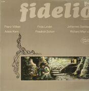 LP - Ludwig van Beethoven - Fidelio,, Franz Völker, Frida Leider, Adele Kern