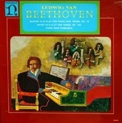 LP - Ludwig van Beethoven - Paris Wind Ensemble - Quintet In E Flat For Piano & Winds, Op.16; Octet In E Flat For Winds, Op.103