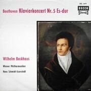 LP - Beethoven - Klavierkonzert Nr. 5 Es-dur, Backhaus, Wiener Philharmoniker, Schmidt-Isserstedt