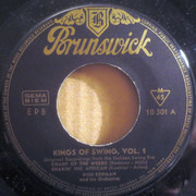 7inch Vinyl Single - Luis Russell & Don Redman - 1931 - Kings Of Swing Vol. 1 - Original German EP