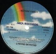 LP - Lynyrd Skynyrd - Nuthin' Fancy