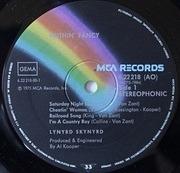 LP - Lynyrd Skynyrd - Nuthin' Fancy - BLACK MCA RAINBOW