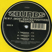 12inch Vinyl Single - M.W.F. - Timeshock