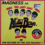12'' - Madness - The Return Of The Los Palmas 7 - White Label