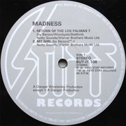 12inch Vinyl Single - Madness - The Return Of The Los Palmas 7