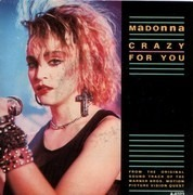 7'' - Madonna - Crazy For You