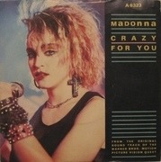 7'' - Madonna - Crazy For You - White Labels