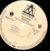 Double LP - Madonna - Erotica
