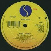 12'' - Madonna - Hanky Panky
