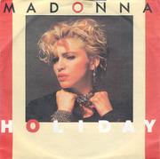 7'' - Madonna - Holiday