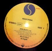 12inch Vinyl Single - Madonna - Holiday