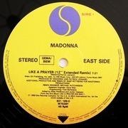 12'' - Madonna - Like A Prayer