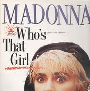 12'' - Madonna - Who's That Girl