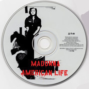 CD - Madonna - American Life