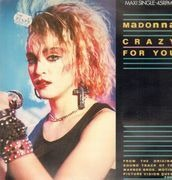 12inch Vinyl Single - Madonna - Crazy For You