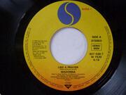 7inch Vinyl Single - Madonna - Like A Prayer - Major Sleeve Backside Text