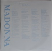 LP - Madonna - True Blue - 180 GR.VINYL REISSUE W/ORIGINAL ARTWORK/POSTER/IN