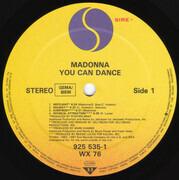 LP - Madonna - You Can Dance - Obi +Poster