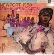LP - Mahalia Jackson - Newport 1958 - RED SIX-EYE