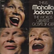 Double LP - Mahalia Jackson - This Is Mahalia Jackson - The World's Greatest Gospel Singer