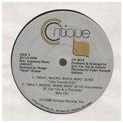 12inch Vinyl Single - mai tai - what, where, when, who