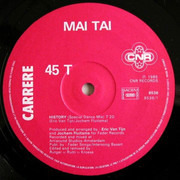 12inch Vinyl Single - Mai Tai - History (Special Dance Mix)