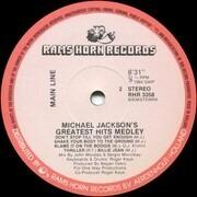 12inch Vinyl Single - Main Line - Michael Jackson's Greatest Hits Medley