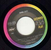 7inch Vinyl Single - Mama Cass - Dream A Little Dream Of Me EP - Original Mexican EP