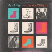 12inch Vinyl Single - Man 2 Man Meets Jessica Williams - These Boots Are Made For Walking - Still sealed