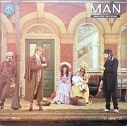 Double LP - Man - Back Into The Future - UK