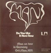 LP - Man - Do You Like It Here Now, Are You Settling In? - Alternative cover artwork