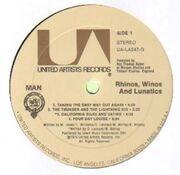 LP - Man - Rhinos, Winos, And Lunatics