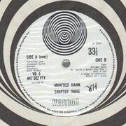 LP - Manfred Mann Chapter Three - Manfred Mann Chapter Three - Original 1st UK Swirl