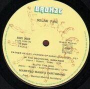 LP - Manfred Mann's Earth Band - Solar Fire - Original