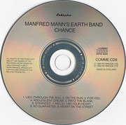 CD - Manfred Mann's Earth Band - Chance