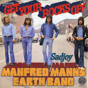 7inch Vinyl Single - Manfred Mann's Earth Band - Get Your Rocks Off