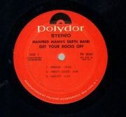 LP - Manfred Mann's Earth Band - Get your rocks off - 1st US Original