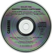 CD - Manfred Mann's Earth Band - Solar Fire