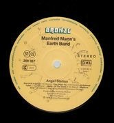 LP - Manfred Mann's Earth Band - Angel Station