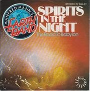 7'' - Manfred Mann's Earth Band - Spirits In The Night