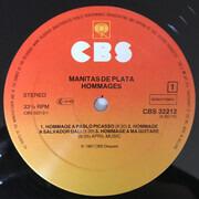 LP - Manitas De Plata - Hommages - Signed by Lucien Clergue