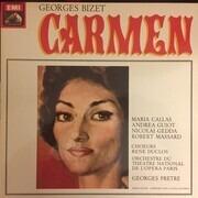 LP-Box - Bizet/Maria Callas , Nicolai Gedda , Robert Massard , Georges Pretre - Carmen - booklets with libretto