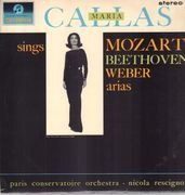 LP - Maria Callas - Callas Sings Mozart, Weber, Beethoven Arias - SEMI-CIRCLE COLUMBIA STEREO