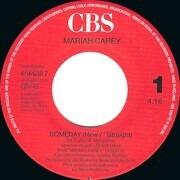 7inch Vinyl Single - Mariah Carey - Someday (New 7Inch Straight / New 7Inch Jackswing) (Vinyl Single)