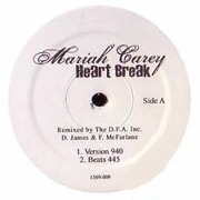 12'' - Mariah Carey - Heart Break (Bootleg Mixes)