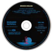 CD - Marianne Faithfull - Broken English - Gatefold cardboard sleeve