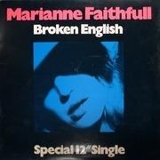 12inch Vinyl Single - Marianne Faithfull - Broken English